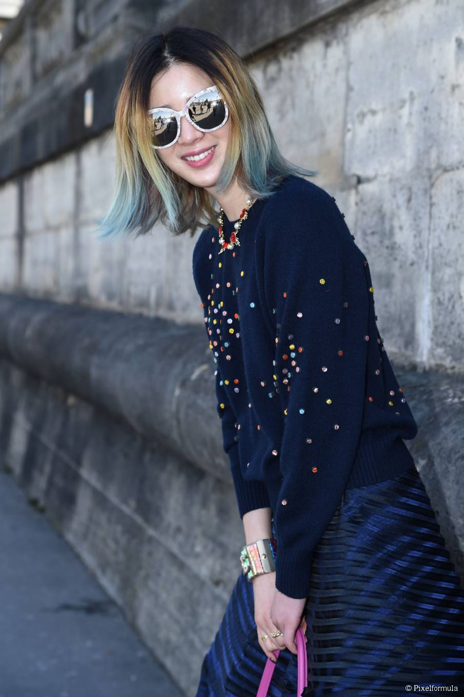 Haarfarbe Inspiration: 6 makellose Streetstyle-Looks
