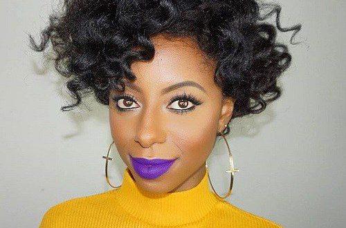 Natürliche Frisuren für afroamerikanische Frauen