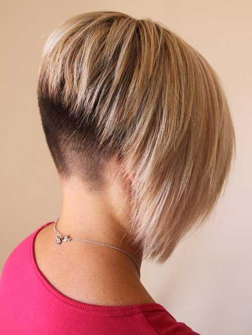 15 umgekehrte Bob Haarschnitte, um strahlend auszusehen