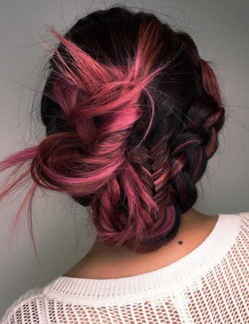 Frisur-Ideen für schwarze behaarte Damen