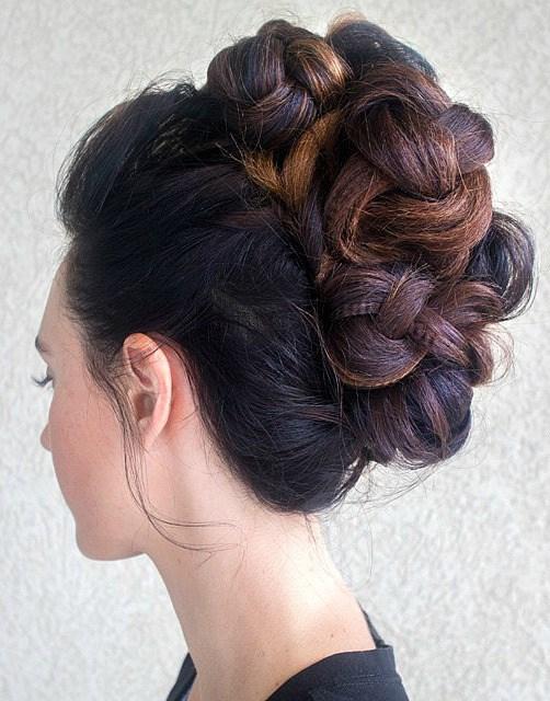 20 nette Möglichkeiten, gestauchtes Haar zu stylen