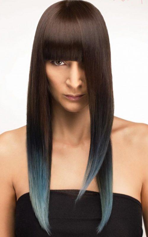 Coole Frisuren mit Long Bangs für Beste Frisur
