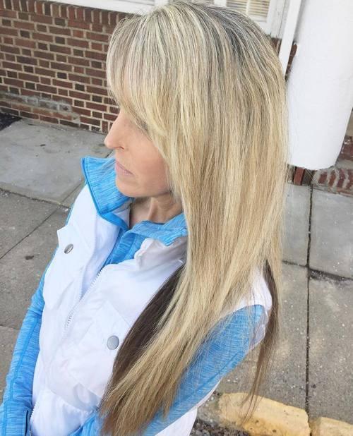 50 moderne Haarschnitte für Frauen über 50 mit Extra Zing