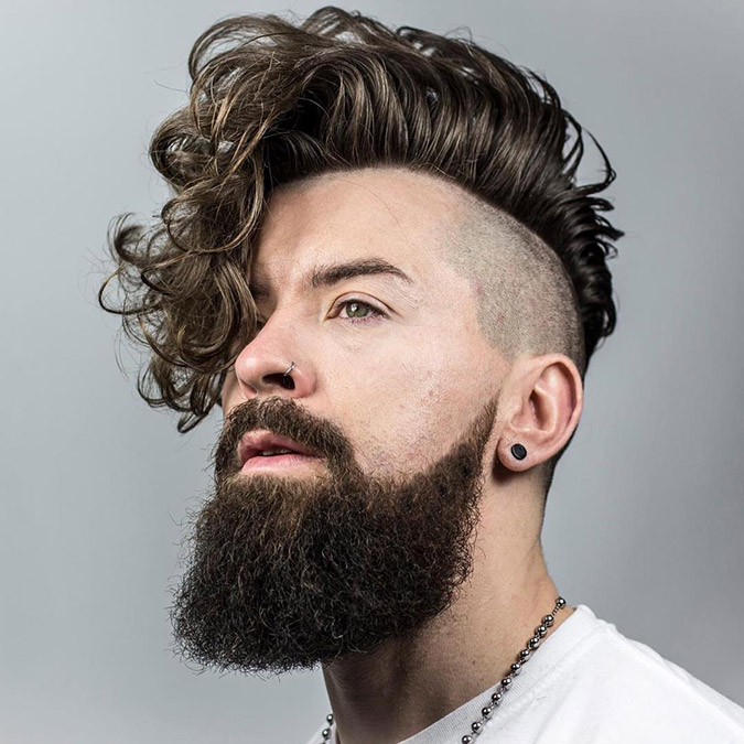 7 coolste Side Swept Undercuts - Manly Styles