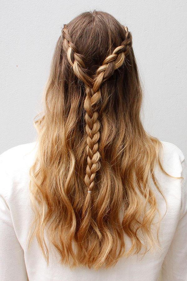 18 geflochtene Frisuren für langes Haar, um großartig aussehen