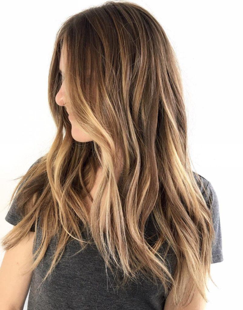 30 hellbraune Haarfarbe für coolen und charmanten Look