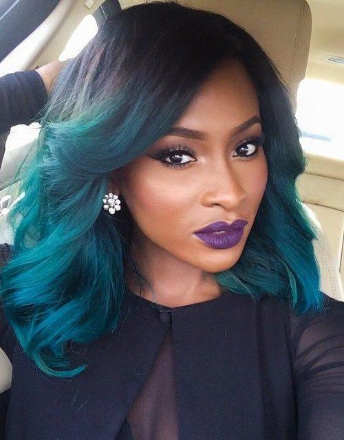 Neu Bold Hair Shades für schwarze Frauen
