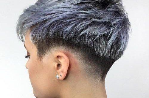 Sassy und nervös rasierte Frisuren für Frauen