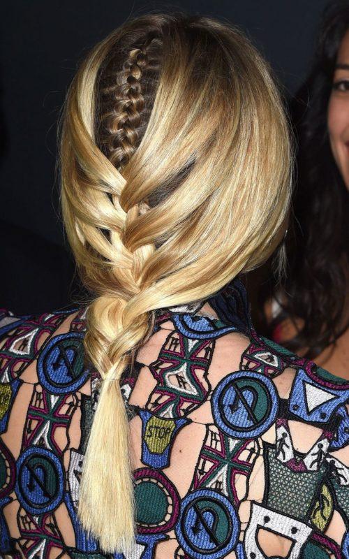 Abschiedszöpfe: Neues Muster in modernen Frisuren