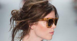 20 schönsten chaotisch Hochsteckfrisuren für wunderschöne Frauen