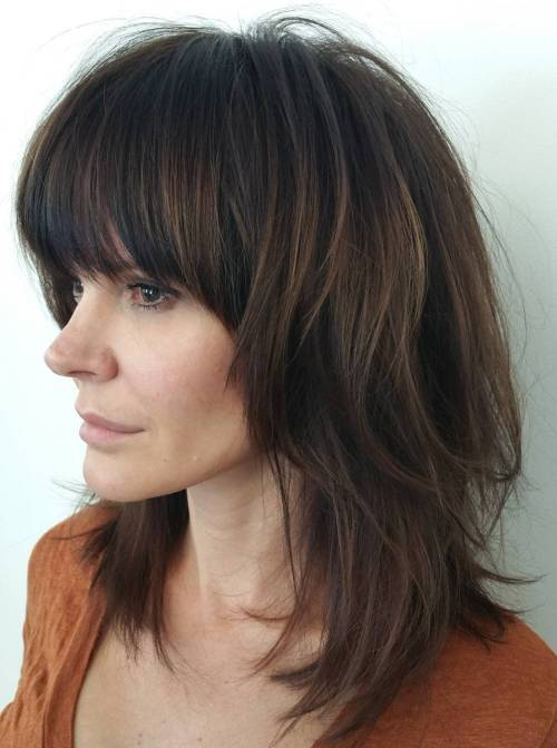 30 Shag Haircuts für Frauen - Go Sassy And Sultry