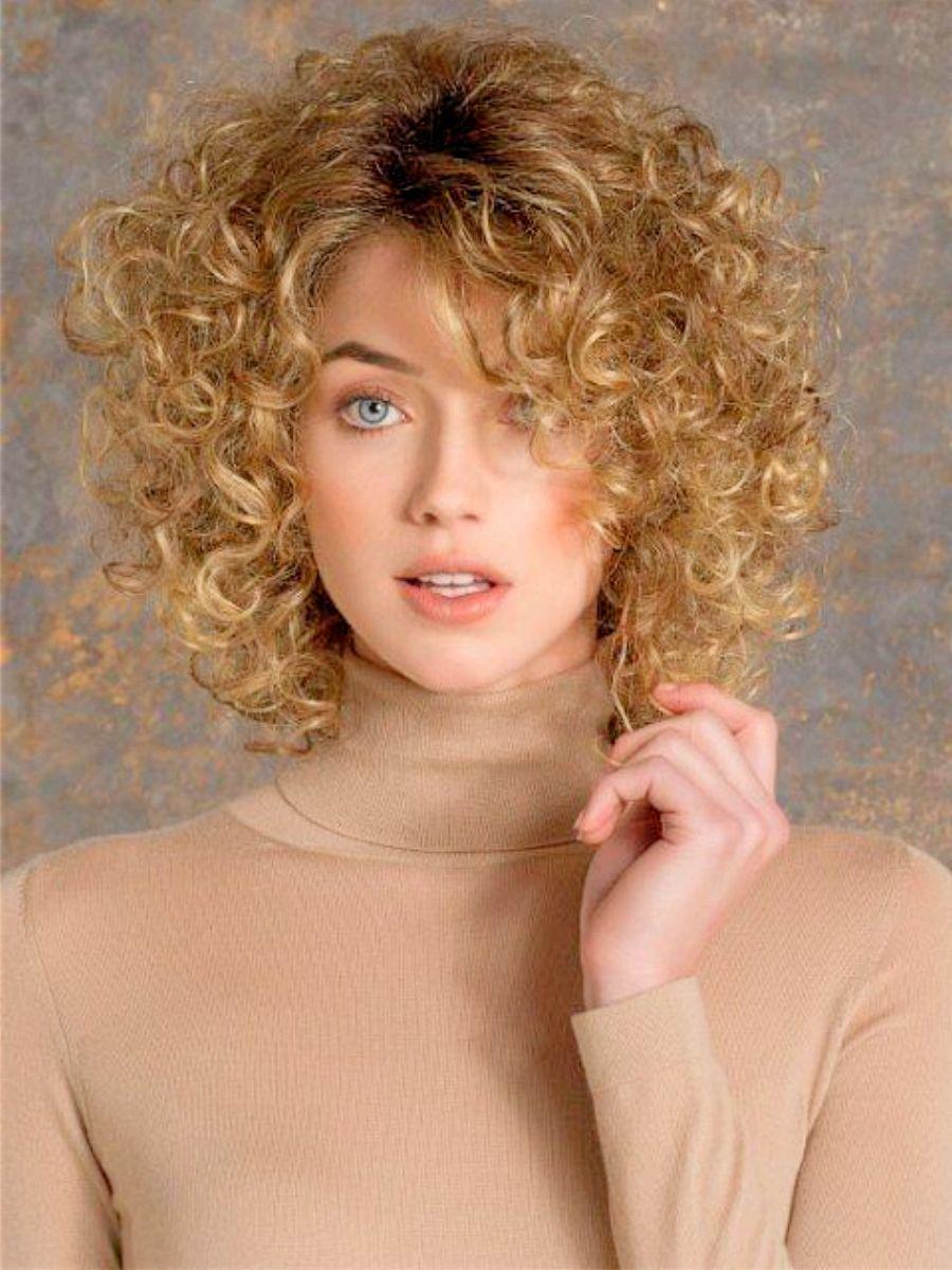 7 einfache geschichtete Bob Haarschnitte für lockiges Haar