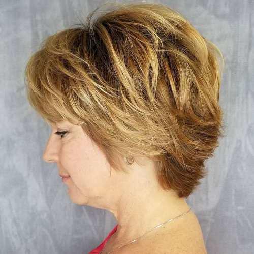 20 Charming Pixie Haarschnitte für Frauen über 50