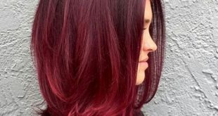 Rote Haarfarbe Inspiration