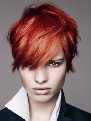 Kurz geschichtete Frisur Trends Neu