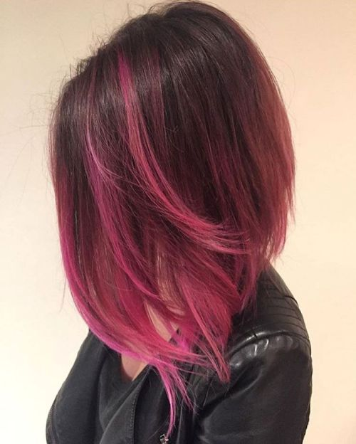 40 rosa Frisuren als Inspiration für Pink Hair