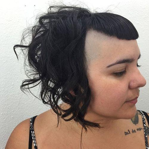 40 die meisten mittelfristigen Haarschnitte mit Pony