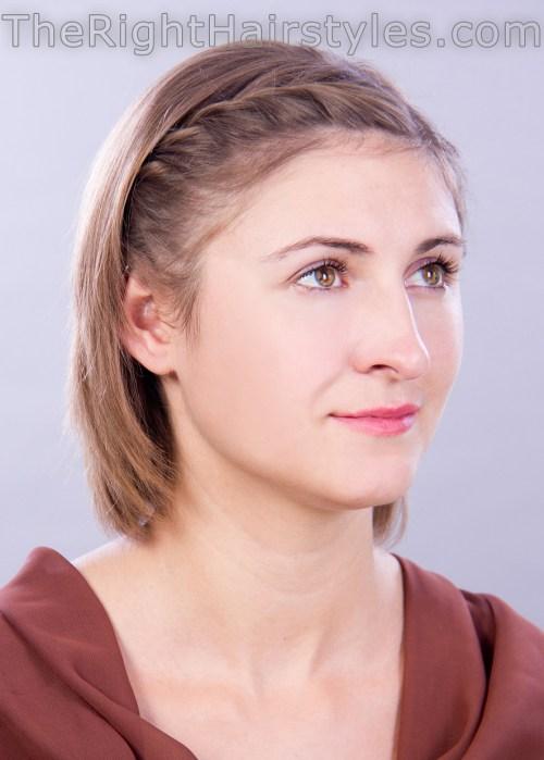 How To: Kurze Frisur für feines Haar mit Twisted Pony