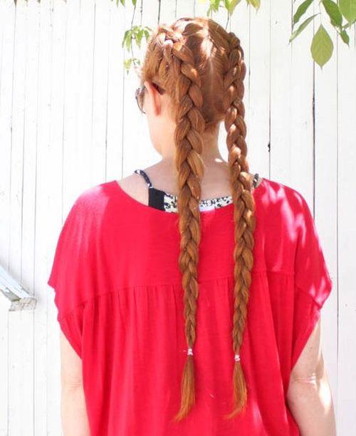 40 Zwei französische Braid Frisuren für Ihr perfektes Aussehen