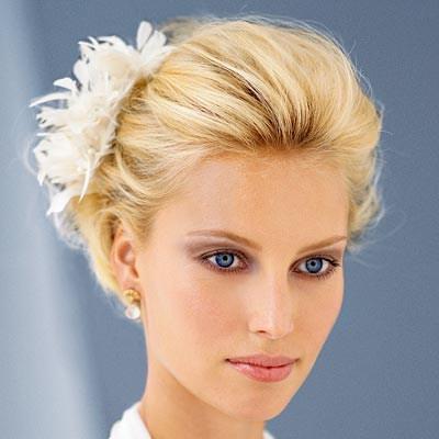 23 Most Glamorous Hochzeit Frisur für kurze Haare