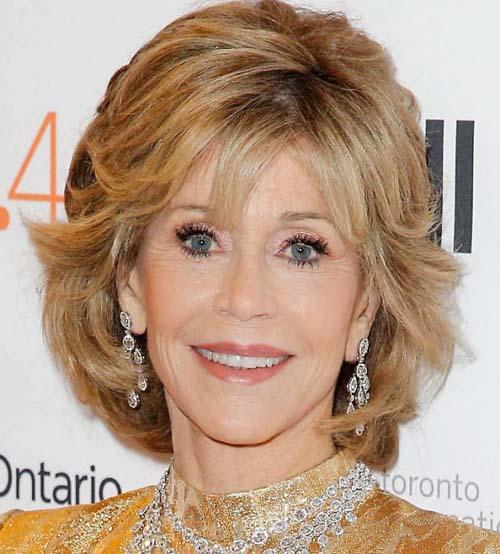 30 stilvolle und charmante Jane Fonda Frisuren