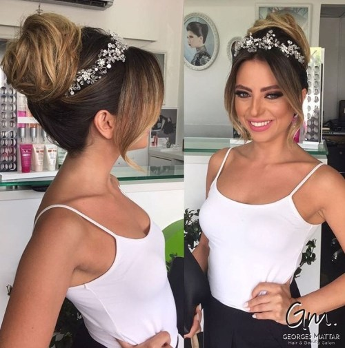 40 schicke Hochzeit Haarhochsteckfrisuren für elegante Bräute