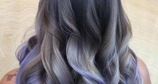 Unglaubliche Schattierungen von Gray Hair Trend für Beste Frisur