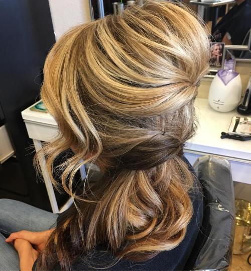 45 Side Frisuren für Prom um jeden Geschmack zu befriedigen