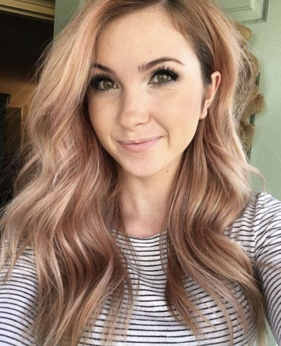 10 charmante Rose Gold Balayage Frisuren