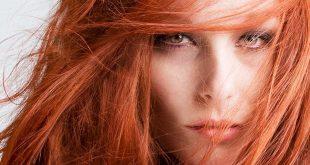 Wie man rote Haarfarbe schützt