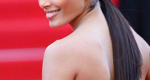 Freida Pinto in Cannes: Schlanker Haar Tutorial