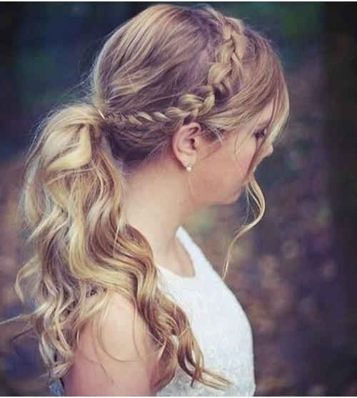 6 einfach zu tun geflochtene Frisuren für Neu