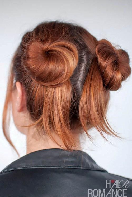 Quick Updos - 30 Möglichkeiten, um Ihr Haar schnell und einfach zu stylen