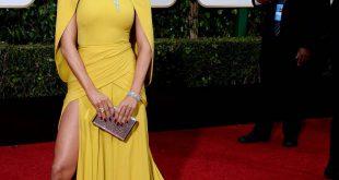 Erstelle J. Lo's atemberaubende Golden Globes Red Carpet Frisur