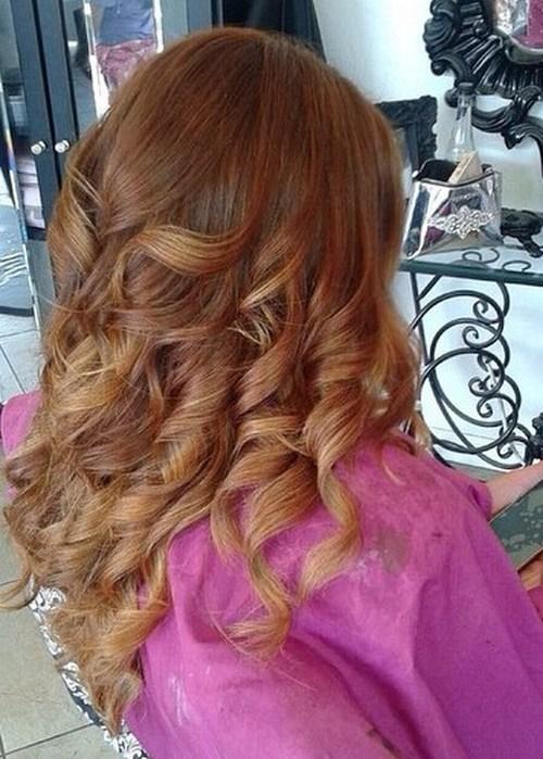20 süße Herbst Haare Farben und Highlights Ideen