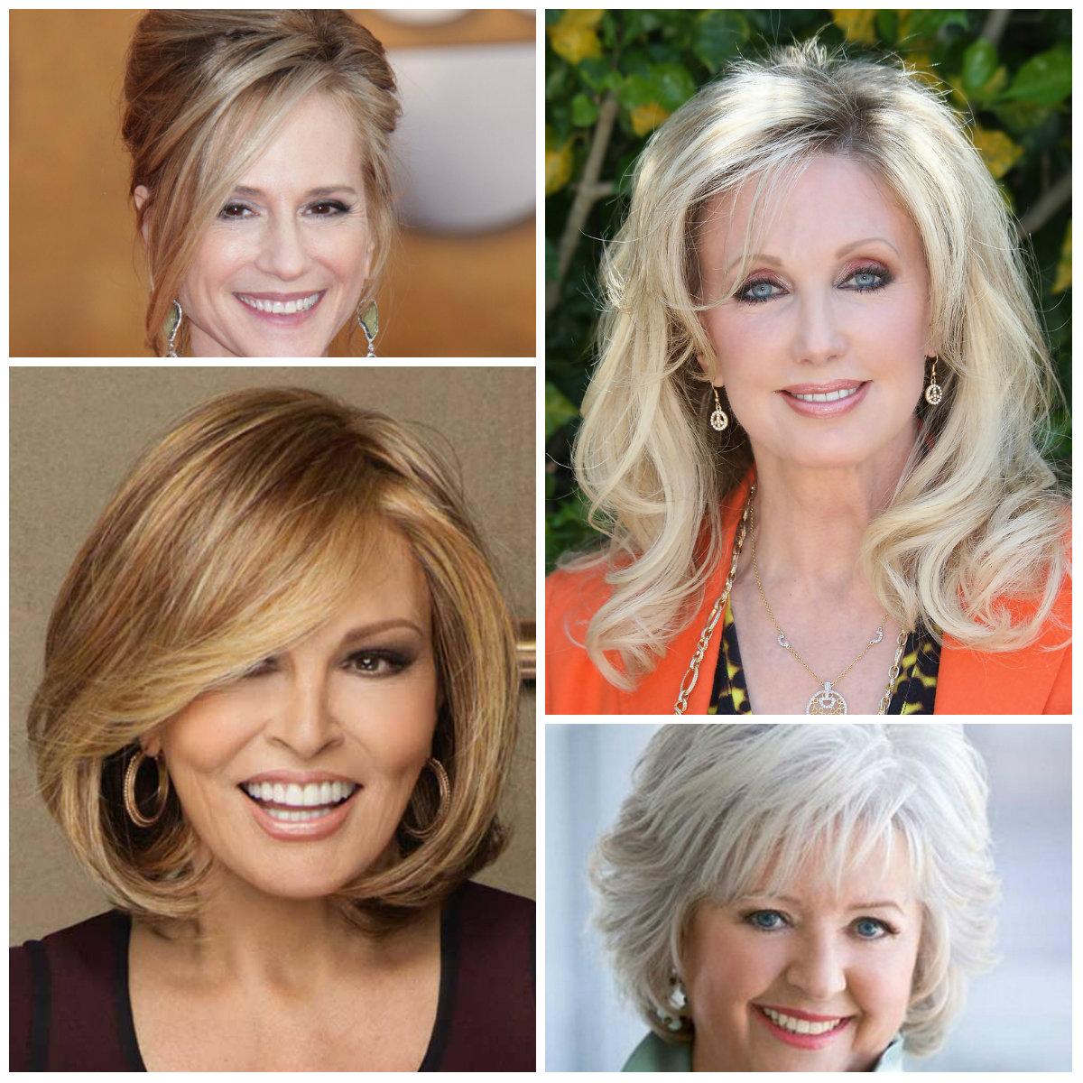 Hübsche Frisuren-Ideen für reife Frauen Neu