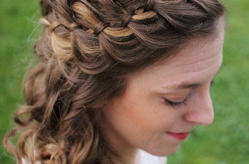 32 süße und bequeme geflochtene Stirnband Frisuren - Beste Frisuren ...