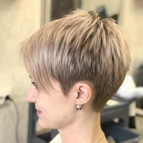 Pixie Haarschnitte mit Pony - 50 Terrific Tapers