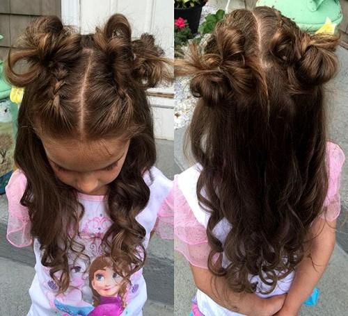 40 coole Frisuren für kleine Mädchen bei jedem Anlass