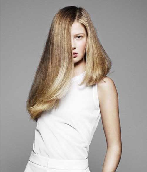 Trendige Haarschnitte für langes Haar Beste Frisur