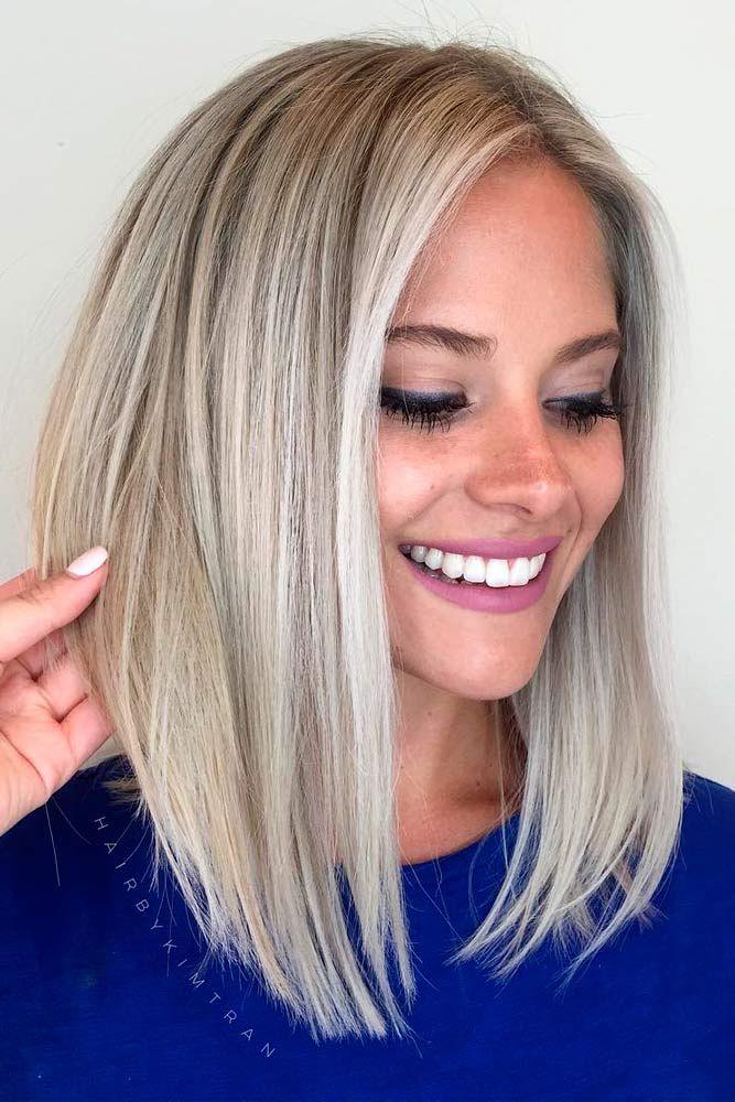 16 kurze bis mittlere Frisuren für Frauen