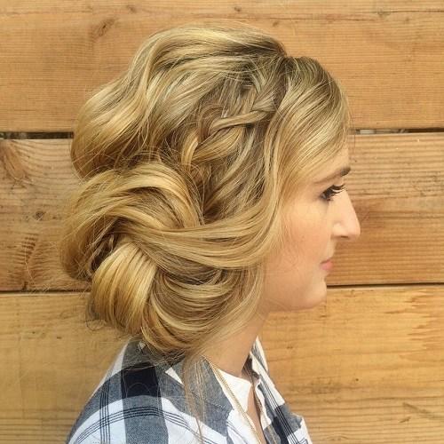 40 Lässige und formale Bun Frisuren für 2018