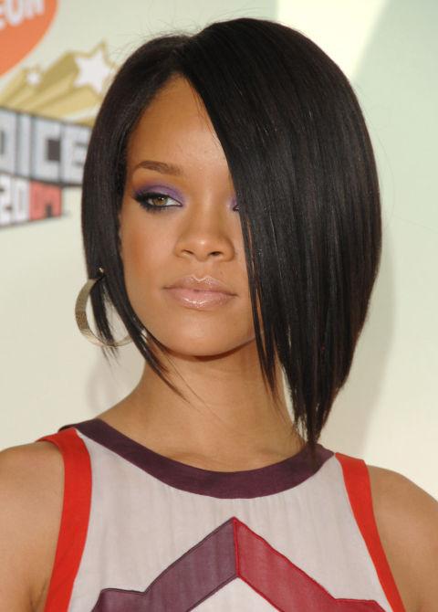 Kurze Frisuren von afroamerikanischen Prominenten