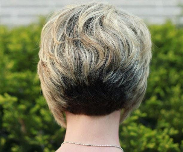 Top 5 bunte Bob Haarschnitte in der Rückseite rasiert
