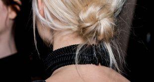 Wie man einen zerzausten niedrigen Knoten macht