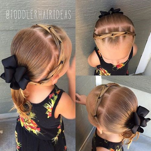 20 entzückende Kleinkind Mädchen Frisuren