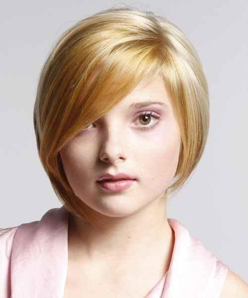 Frauen Frisuren für runde Gesichter - Wie es Ihnen reparieren wird