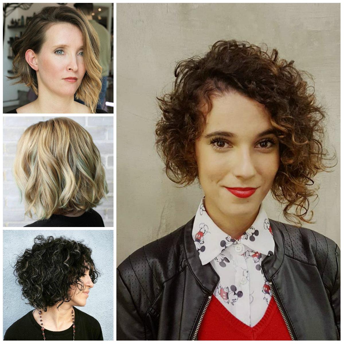 Kurze gewellte Frisuren für Beste Frisur