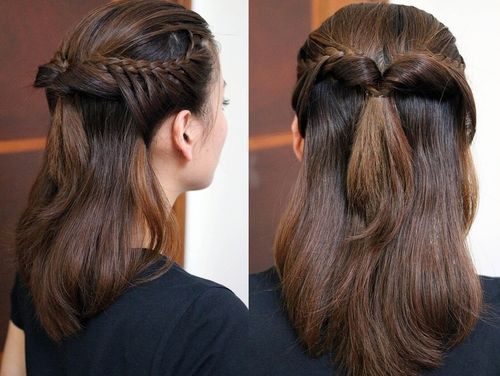 20 trendige Half Braided Frisuren