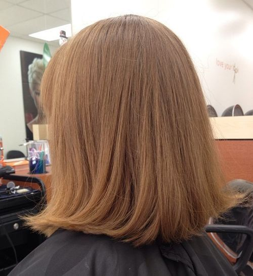 40 besten mittleren geraden Frisuren und Haarschnitte - stilvolle Vielfalt